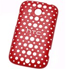 HTC HC C780 Red zadn drovan kryt HTC Desire C